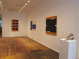 <b>tom doyle, don voisine, mark williams and thornton willis</b> - <br>installation view [right to left] (checklist 4-7)